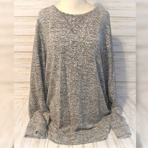 CJ Banks Sweater • Long Sleeve Scoop Neck Sweater